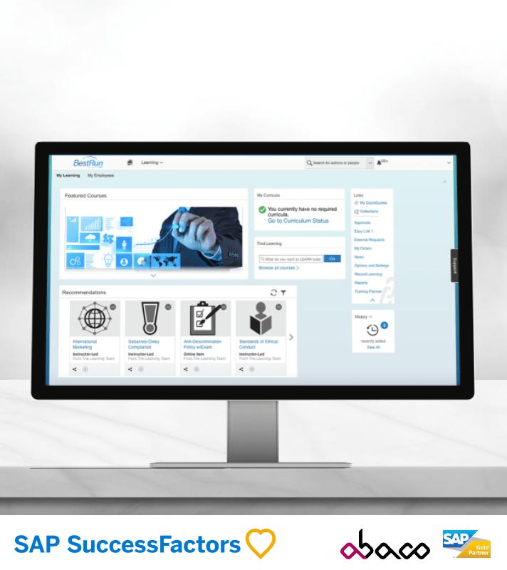 SAP SuccessFactors - Software de Gestão de Recursos Humanos