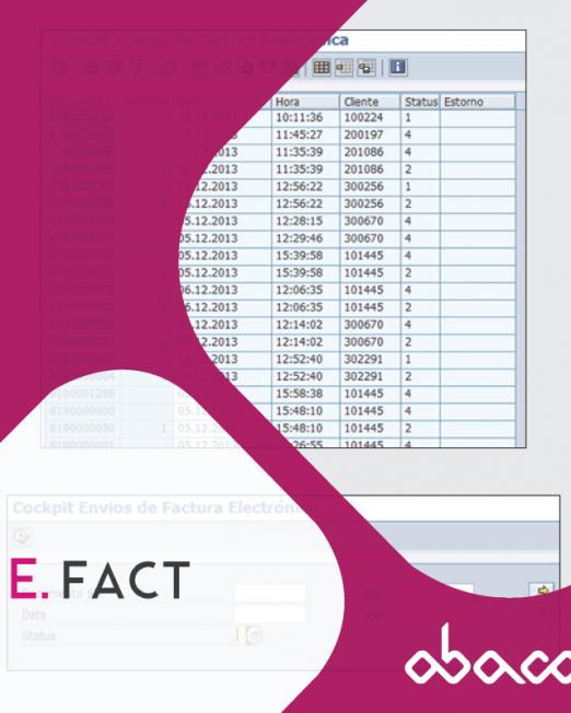 faturação eletrónica SAP