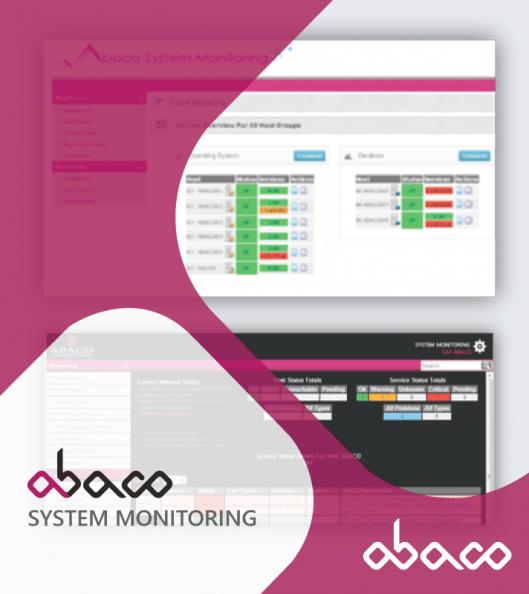 abaco sap system monitoring monitorizacao sap