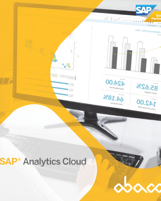 Ferramenta de Busines Intelligence SAP Analytics Cloud - Ábaco Consulting
