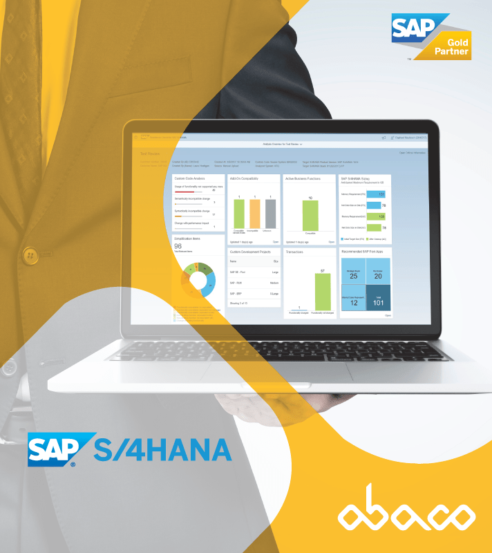 Software SAP S/4HANA - Ábaco Consulting