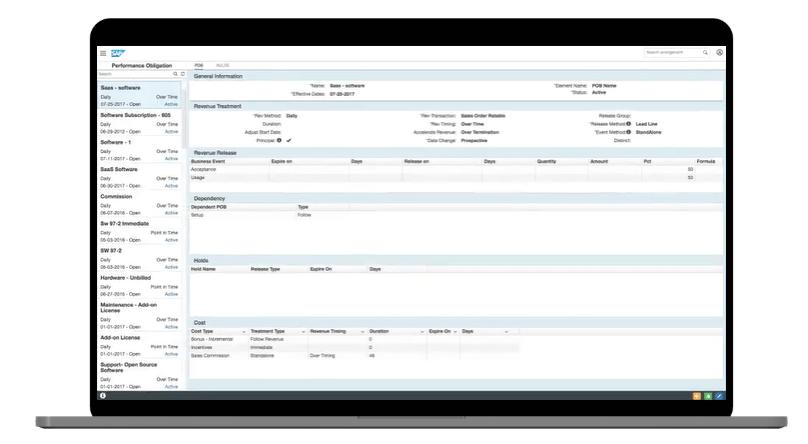 sap sales cloud gestão de faturação e receitas