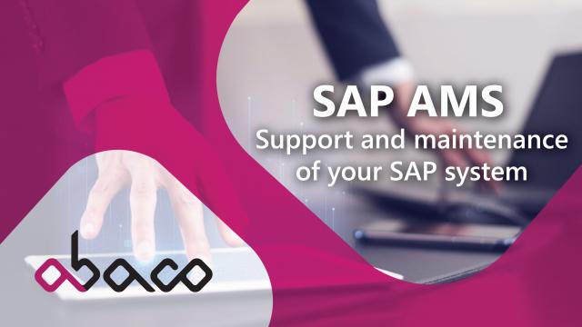 What is SAP AMS - Application management Service?