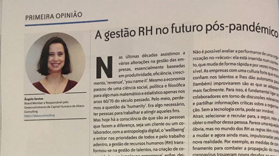 Human – A gestão de RH no futuro pós-pandémico