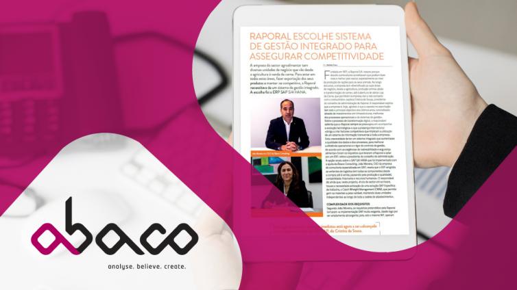caso de estudo SAP Raporal Abaco