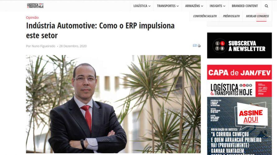 Logística e Transportes Hoje – Indústria Automotive: Como o ERP impulsiona este setor