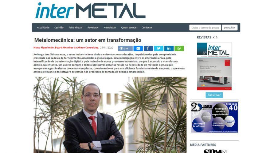 interMETAL – Metalomecânica: um setor em transformação