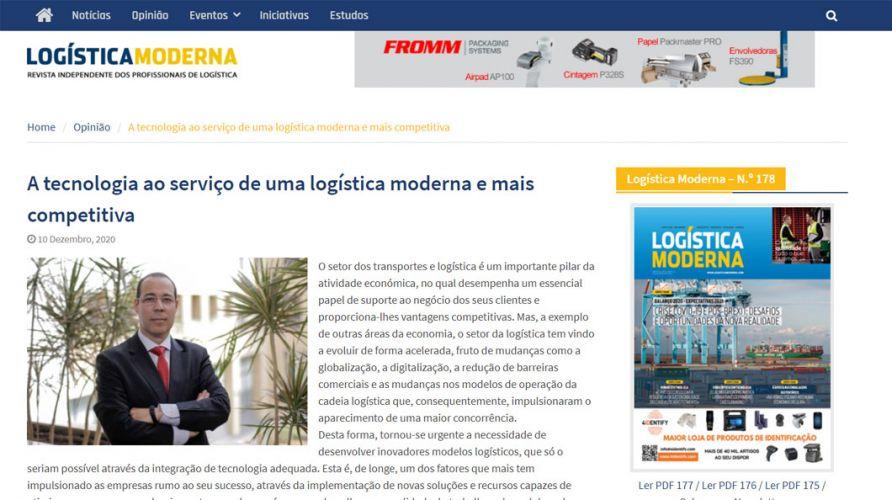 Logistica Moderna – A tecnologia ao serviço de uma logística moderna e mais competitiva