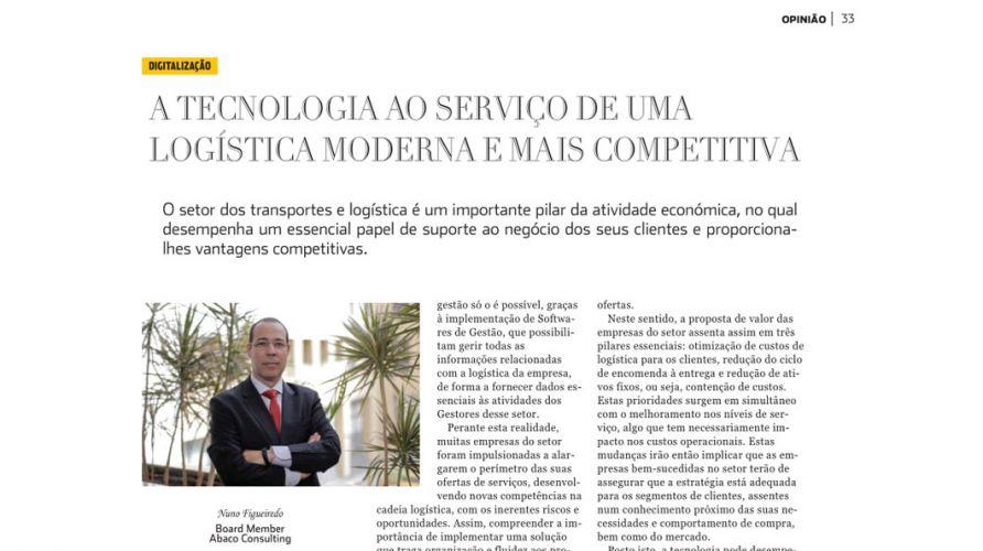 Logística Moderna – Tecnologia ao serviço de uma logística moderna e mais competitiva