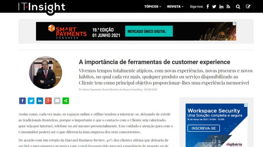 IT Insight – A importância de ferramentas de customer experience