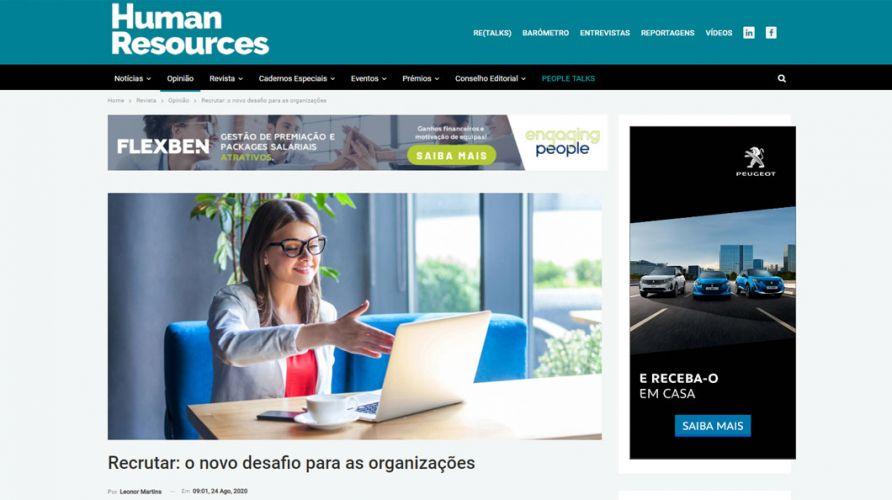 Human Resources – Recrutar: o novo desafio para as organizações