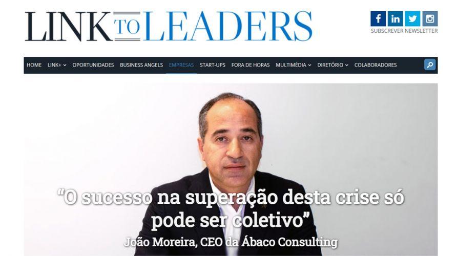 """Link to Leaders – """"O sucesso na superação desta crise só pode ser coletivo"""""""