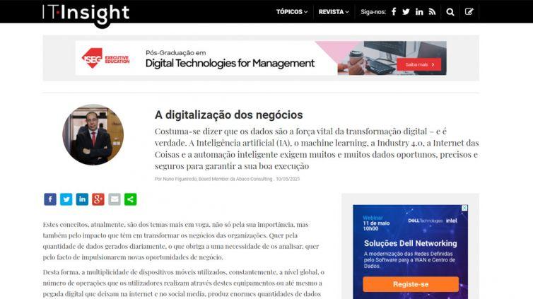 A digitalização dos negócios