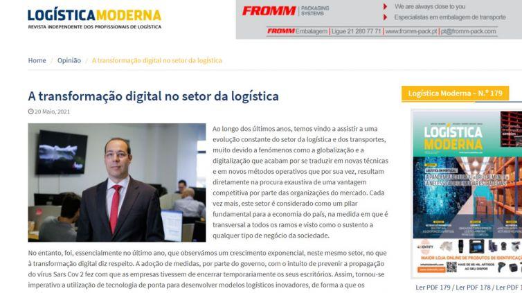 A transformação digital no setor da logística